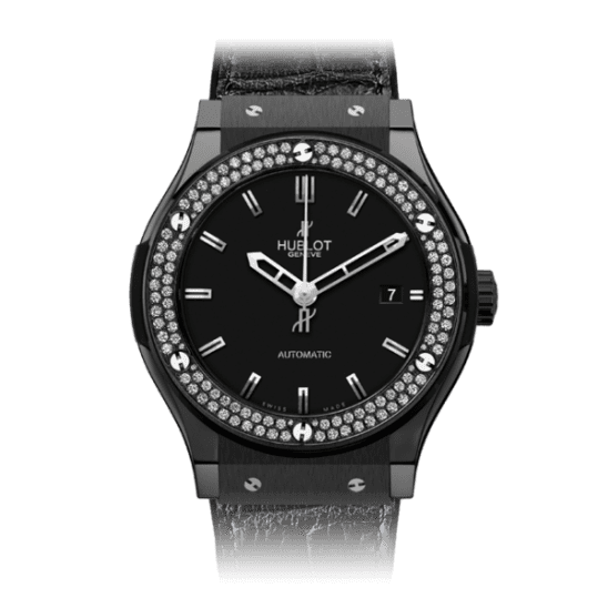 Hublot Classic Fusion Black Magic Diamonds 45mm 511.CM.1170.LR.1104