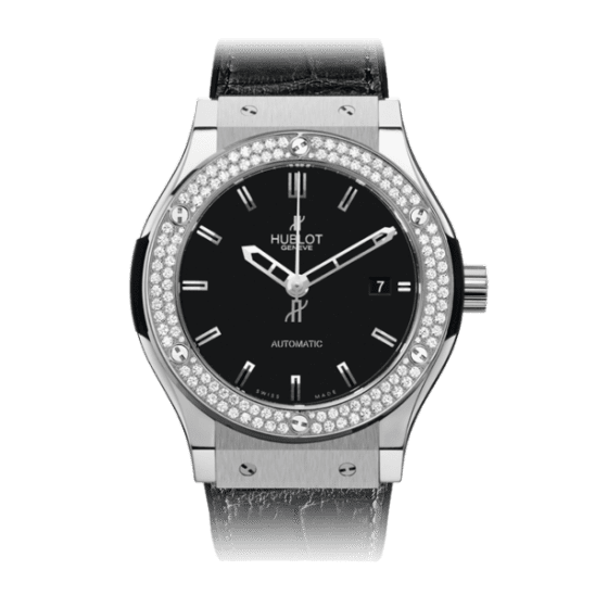 Hublot Classic Fusion Titanium Diamonds 45mm 511.NX.1170.LR.1104