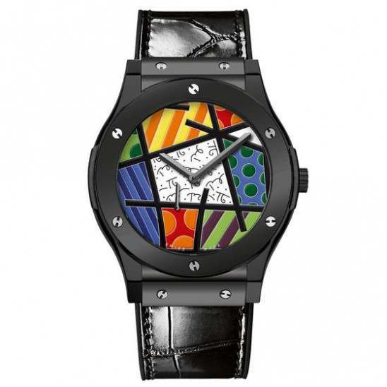 Hublot Classic Fusion Ultra-Thin Enamel Britto Ceramic 515.CS.0910.LR