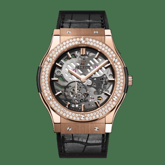 Hublot Classic Fusion Classico Ultra-Thin King Gold Diamonds
