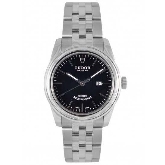 Tudor Glamour Date 31mm Black Dial 53000