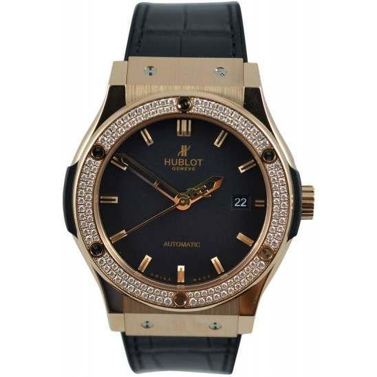 Hublot Classic Fusion King Gold Diamonds 542.OX.1180.LR.1104