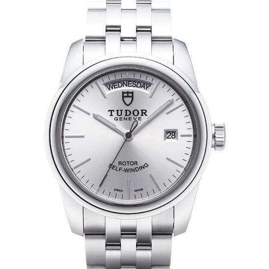 Tudor Glamour Day-Date Watch 56000SB