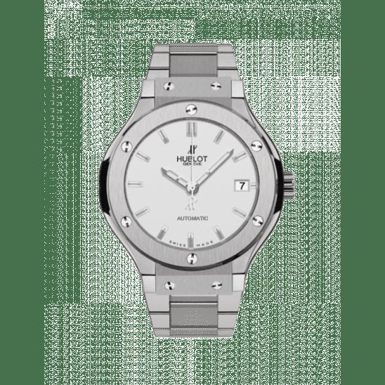 Hublot Classic Fusion Titanium Opalin Bracelet 565.NX.2610.NX