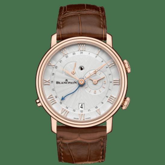 Blancpain Villeret Réveil GMT 6640-3642-55B