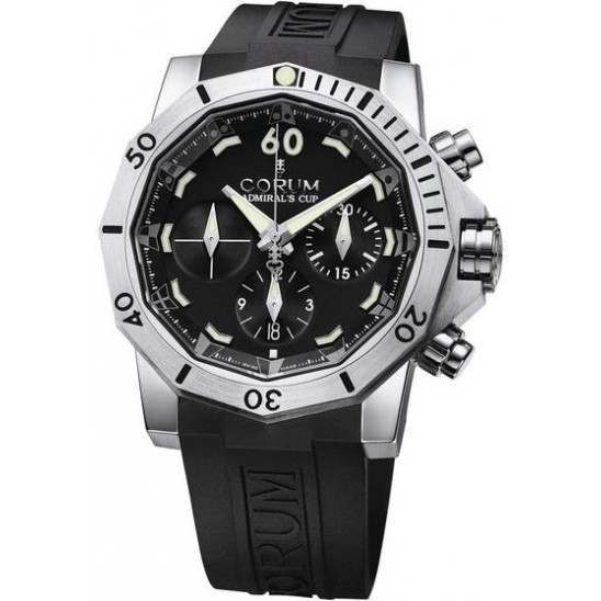 Corum Admiral's Cup Seafender 46 Chrono Dive 753.451.04/0371 AN22
