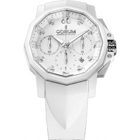 Corum Admiral's Cup Challenger 44 Chrono Rubber 753.802.02/F379 AA31