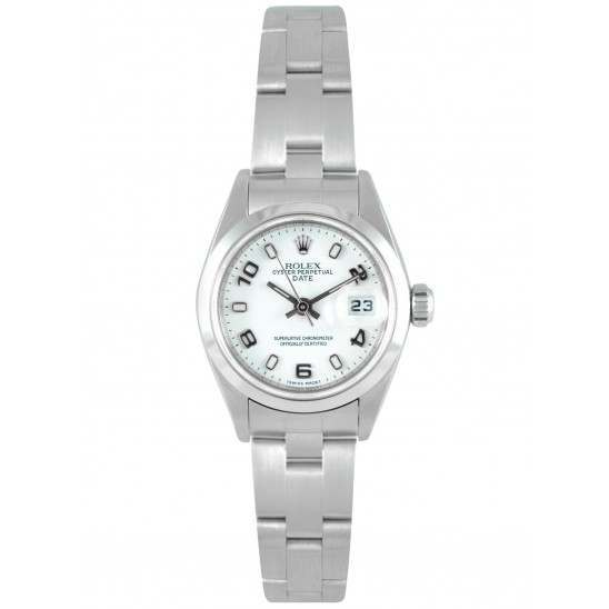Rolex Lady-Datejust White Arab Oyster 79160