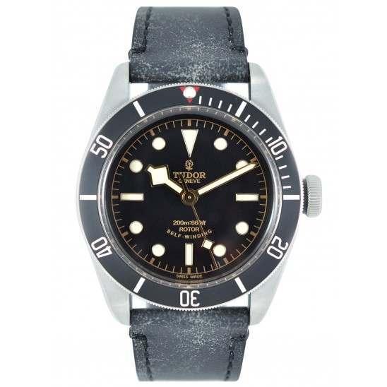 Tudor Heritage Black Bay Black 79220N Leather