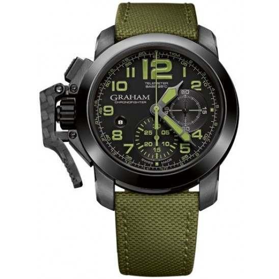 Graham Chronofighter Oversize Chronograph Amazonia Green 2CCAU.G01A