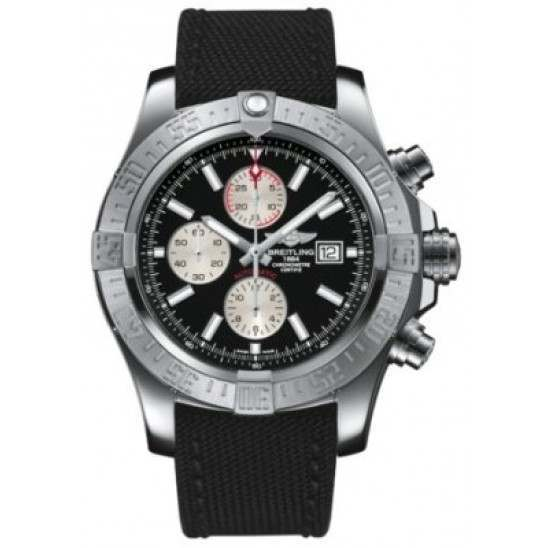 Breitling Super Avenger II Caliber 13 Automatic Chronograph A1337111.BC29.104W