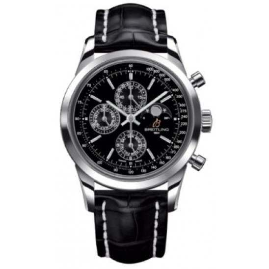 Breitling Transocean Chronograph 1461 Caliber 19 Automatic Chronograph A1931012.BB68.743P