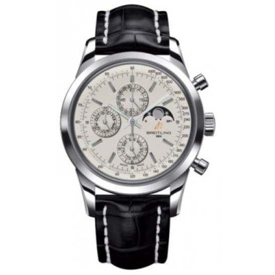 Breitling Transocean Chronograph 1461 Caliber 19 Automatic Chronograph A1931012.G750.743P
