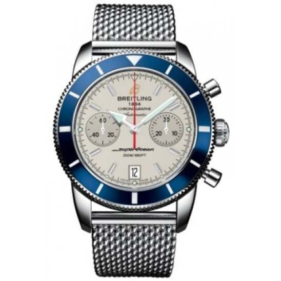 Breitling Superocean Heritage Chronographe 44 Caliber 23 Automatic Chronograph A2337016G753154A