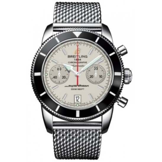 Breitling Superocean Heritage Chronographe 44 Caliber 23 Automatic Chronograph A2337024G753154A