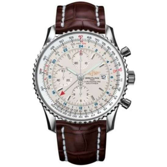 Breitling Navitimer World Caliber 24 Automatic Chronograph A2432212G571756P