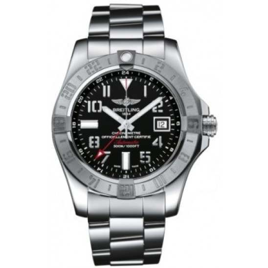 Breitling Avenger II GMT Caliber 32 Automatic A3239011.BC34.170A