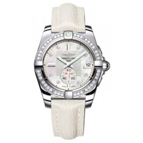 Breitling Galactic 36 (Polished Steel/ Diamonds) Caliber 37 Automatic A3733053.A717.236X