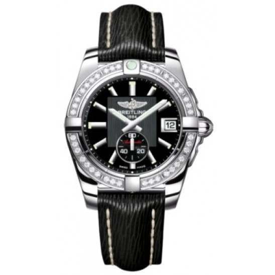 Breitling Galactic 36 (Polished Steel/ Diamonds) Caliber 37 Automatic A3733053.BA33.213X