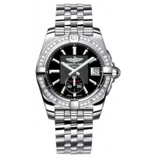 Breitling Galactic 36 (Polished Steel/ Diamonds) Caliber 37 Automatic A3733053.BA33.376A