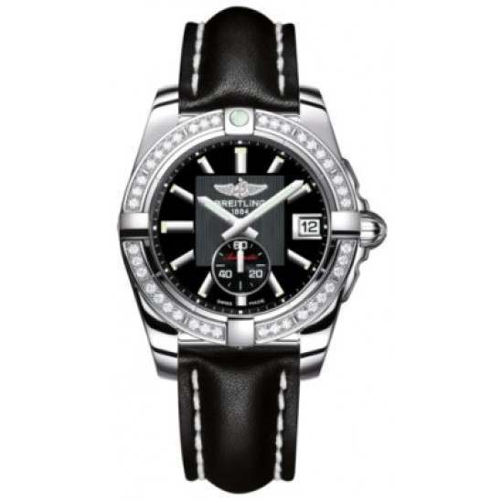 Breitling Galactic 36 (Polished Steel/ Diamonds) Caliber 37 Automatic A3733053.BA33.414X