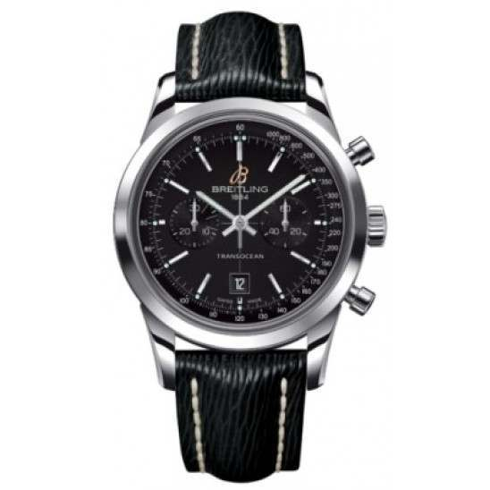 Breitling Transocean Chronograph 38 Caliber 41 Automatic A4131012BC06218X
