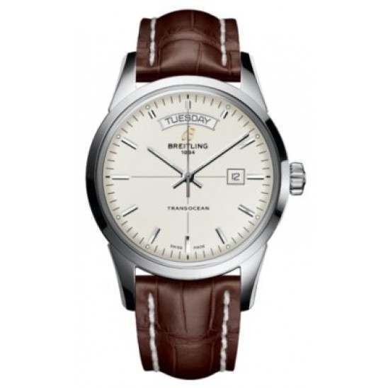 Breitling Transocean Day Date Caliber 45 Automatic A4531012.G751.739P