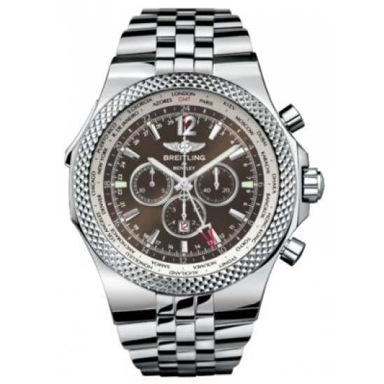 Breitling Bentley GMT Caliber 47B Automatic Chronograph A4736212.Q554.998A