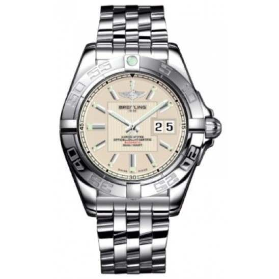 Breitling Galactic 41 (Steel) Caliber 49 Automatic A49350L2.G699.366A