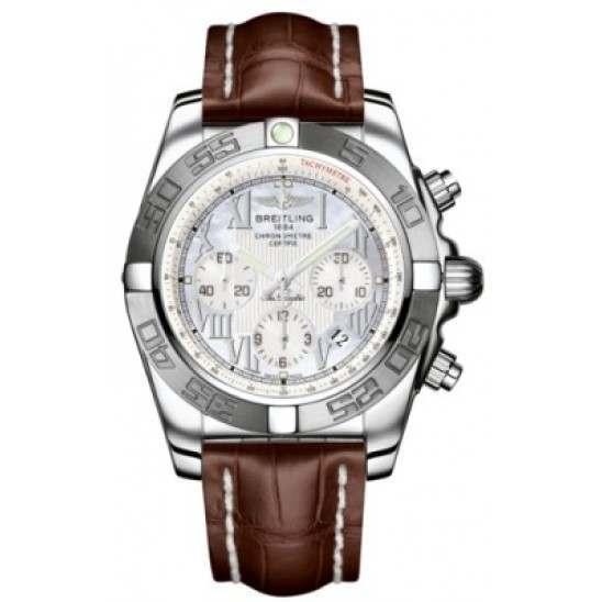 Breitling Chronomat 44 (Polished & Satin) Caliber 01 Automatic Chronograph AB011011.A691.739P