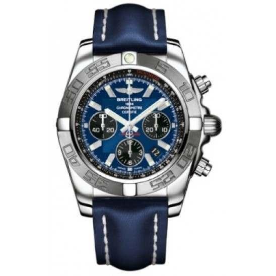 Breitling Chronomat 44 (Polished & Satin) Caliber 01 Automatic Chronograph AB011011.C789.105X