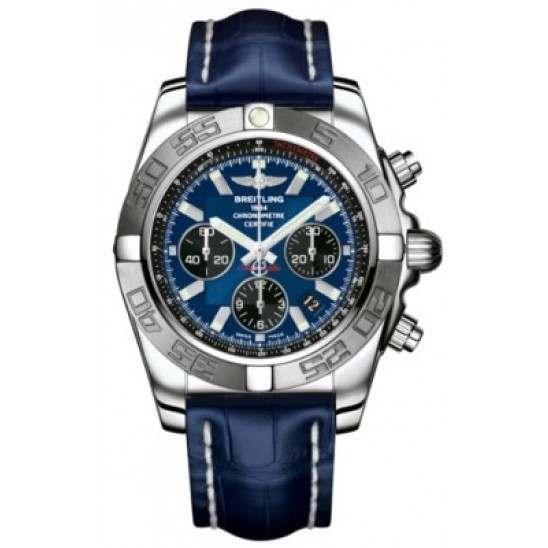 Breitling Chronomat 44 (Polished & Satin) Caliber 01 Automatic Chronograph AB011011.C789.731P