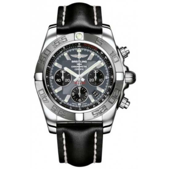Breitling Chronomat 44 (Polished & Satin) Caliber 01 Automatic Chronograph AB011011.F546.435X