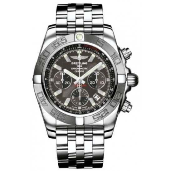 Breitling Chronomat 44 (Polished & Satin) Caliber 01 Automatic Chronograph AB011011.M524.375A