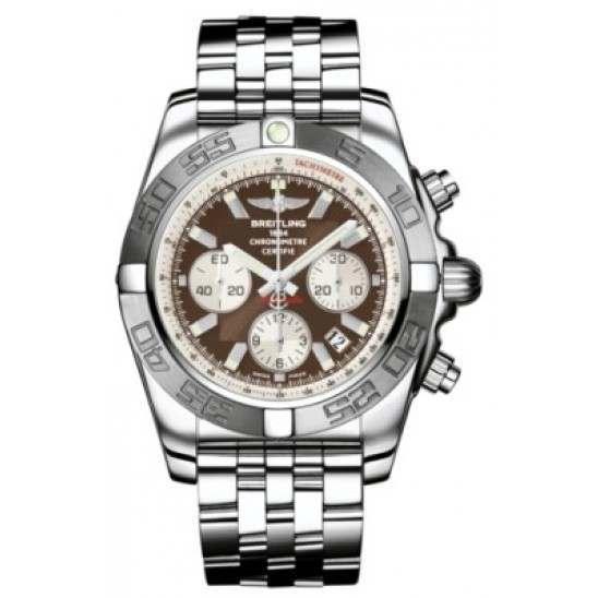 Breitling Chronomat 44 (Polished & Satin) Caliber 01 Automatic Chronograph AB011011.Q575.375A