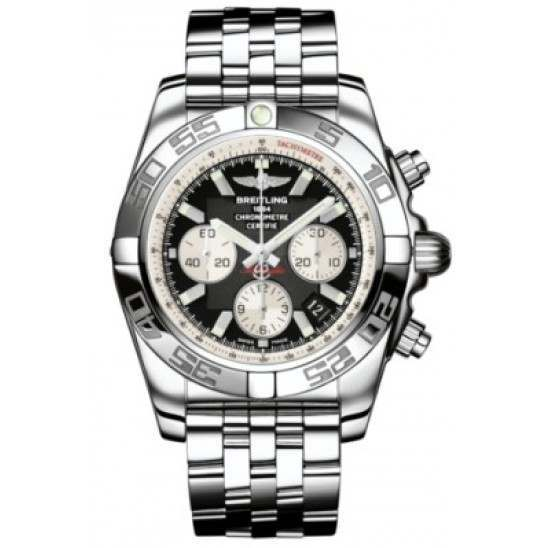 Breitling Chronomat 44 (Polished) Caliber 01 Automatic Chronograph AB011012.B967.375A
