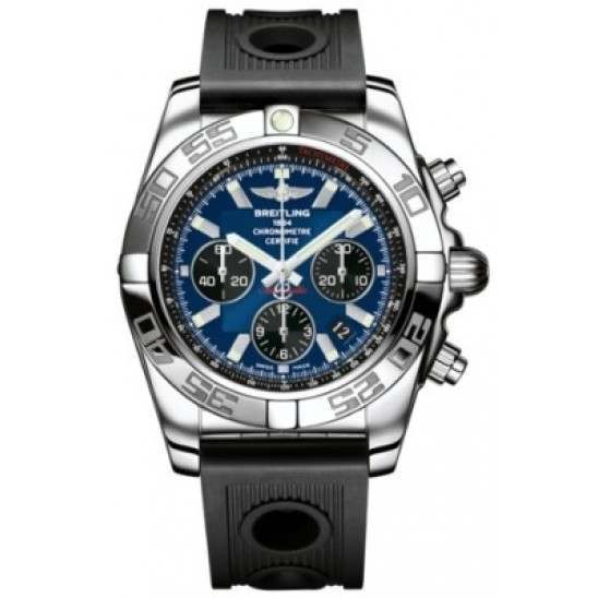 Breitling Chronomat 44 Polished Caliber 01 Automatic Chronograph AB011012C789200S