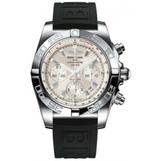 Breitling Chronomat 44 (Polished) Caliber 01 Automatic Chronograph AB011012.G684.152S