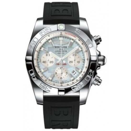 Breitling Chronomat 44 (Polished) Caliber 01 Automatic Chronograph AB011012.G685.152S