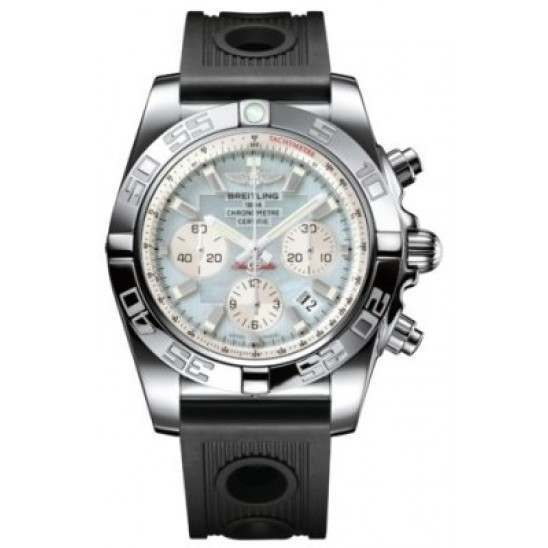 Breitling Chronomat 44 (Polished) Caliber 01 Automatic Chronograph AB011012.G685.200S