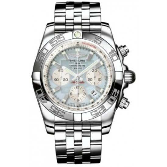 Breitling Chronomat 44 (Polished) Caliber 01 Automatic Chronograph AB011012.G685.375A