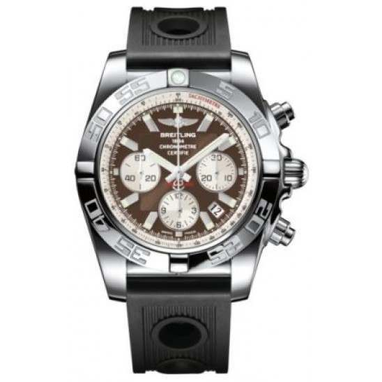 Breitling Chronomat 44 Polished Caliber 01 Automatic Chronograph AB011012Q575200S