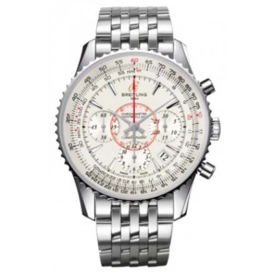 Breitling Montbrillant 01 Caliber 01 Automatic Chronograph AB013012.G709.448A