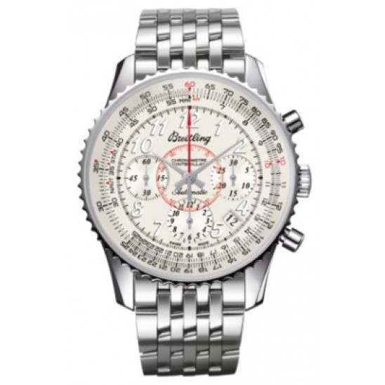 Breitling Montbrillant 01 Caliber 01 Automatic Chronograph AB013012.G735.448A