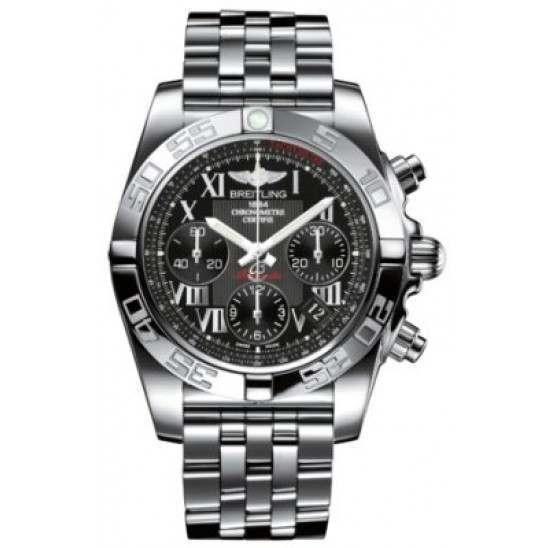 Breitling Chronomat 41 (Steel) Caliber 01 Automatic Chronograph AB014012.BC04.378A