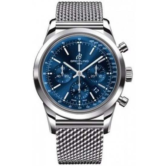 Breitling Transocean Chronograph Caliber 01 Automatic AB015112.C860.154A