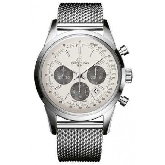 Breitling Transocean Chronograph Caliber 01 Automatic AB015212G724154A