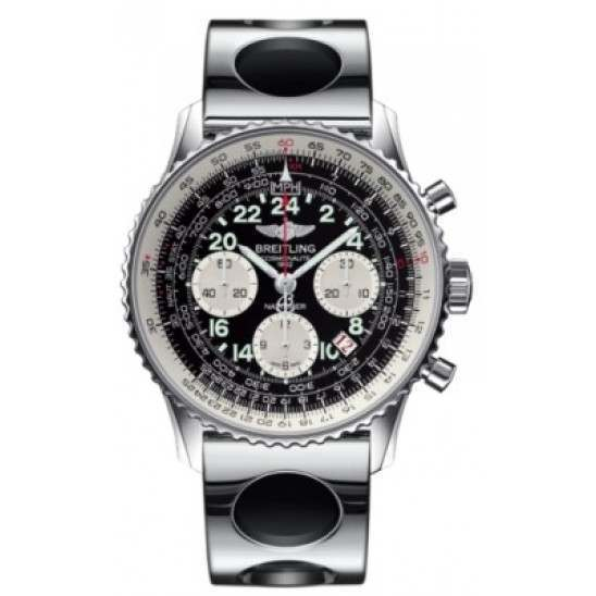Breitling Navitimer Cosmonaute Caliber 02 Hand Wound Mechanical Chronograph AB021012.BB59.222A