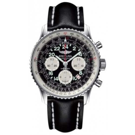 Breitling Navitimer Cosmonaute Caliber 02 Hand Wound Mechanical Chronograph AB021012.BB59.435X