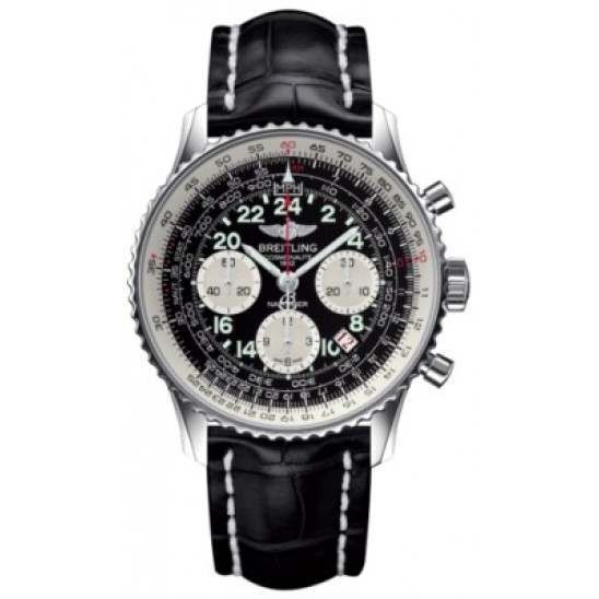 Breitling Navitimer Cosmonaute Caliber 02 Hand Wound Mechanical Chronograph AB021012.BB59.743P
